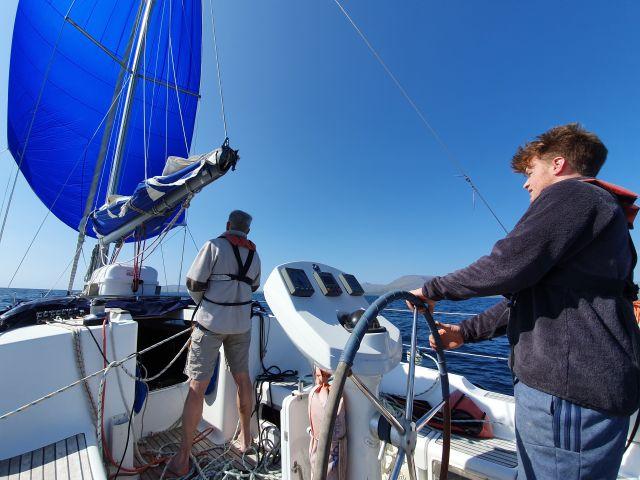 short-hand sailing